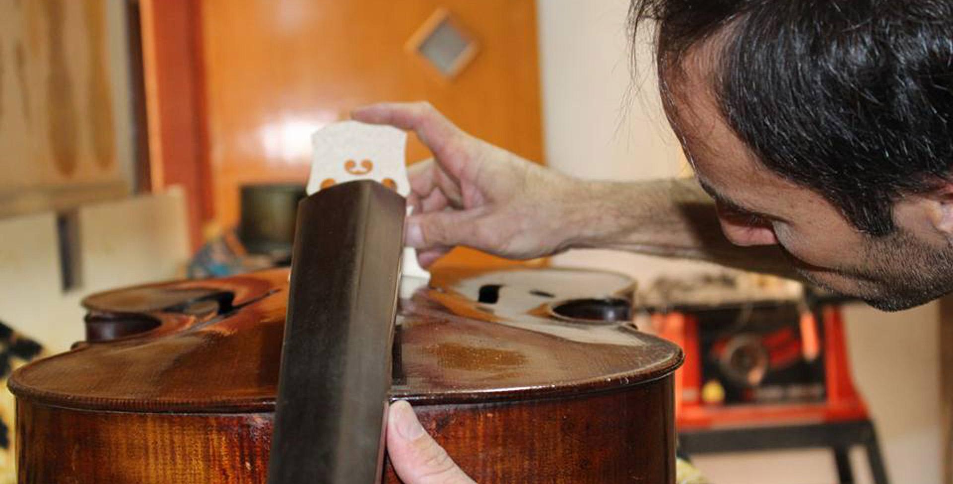 Restauração de instrumentos